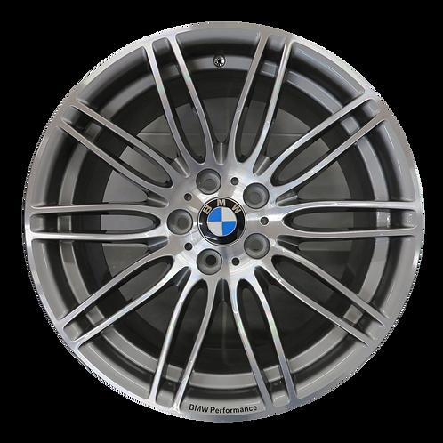 """19"""" 2007-2013 BMW 323i 328i 335i Machined Grey Front Wheel 71240 Style 269"""