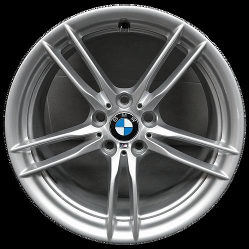 "19"" 2015-2020 BMW M2 M3 M4 Silver Rear Wheel 86093 Style 641"