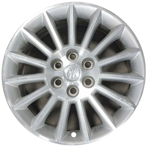 """19"""" 2008-2012 Buick Enclave Machined Silver Wheel 4079"""