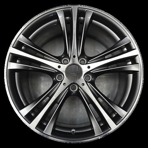 "19"" 2014-2020 BMW 320i 328i 330i 340i 428i Charcoal Front Wheel 86012 Style 407"