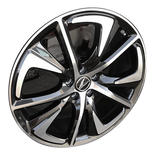 "20"" 2019-2020 Acura RDX Machined Black Wheel 71870"