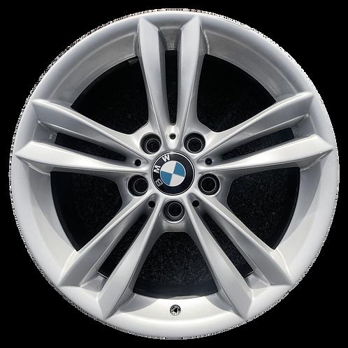 """18"""" 2016-2019 BMW 320i 328i 330e 330i 340i Silver Rear Wheel 86266 Style 658"""