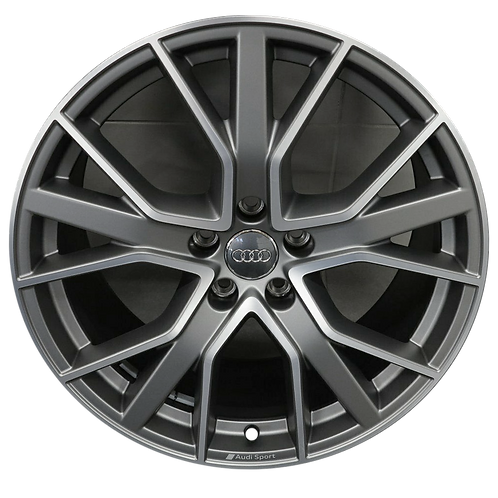 "20"" 2020 Audi S5 Machined Grey Wheel 12007"