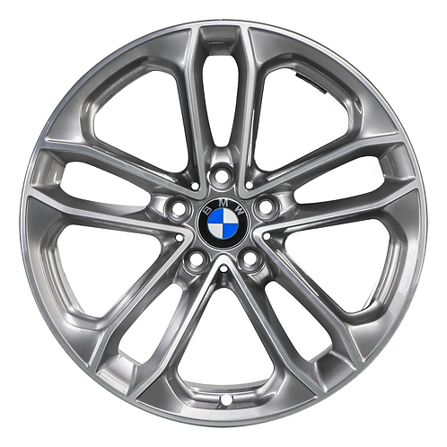 "19"" 2017-2019 BMW 330i GT 340i GT Machined Grey Rear Wheel 86305 Style 673"
