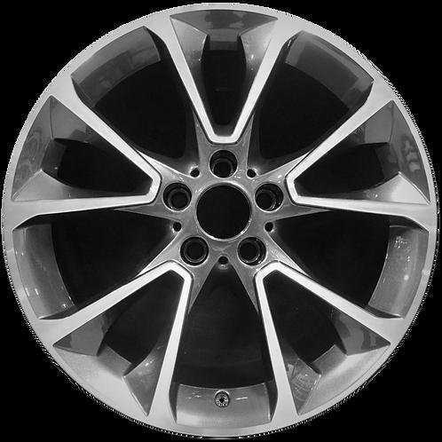 "19"" 2014-2018 BMW X5 Machined Charcoal Wheel 86044 Style 449"