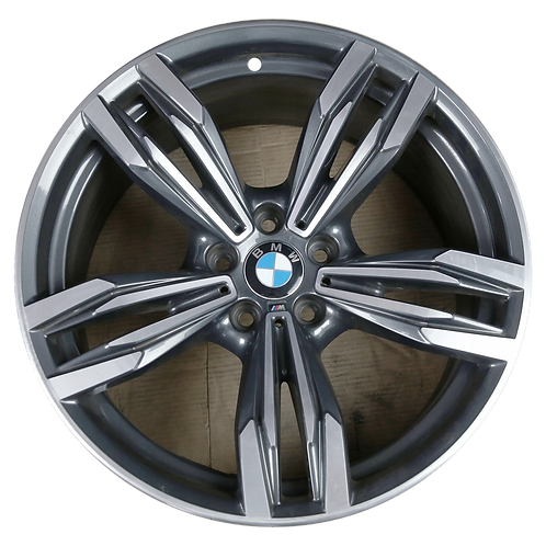 """20"""" 2012-2019 BMW M6 Machined Charcoal Front Wheel 86026 Style 433"""