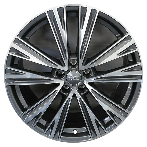 "20"" 2019-2020 Audi A6 Machined Grey Wheel 59060"