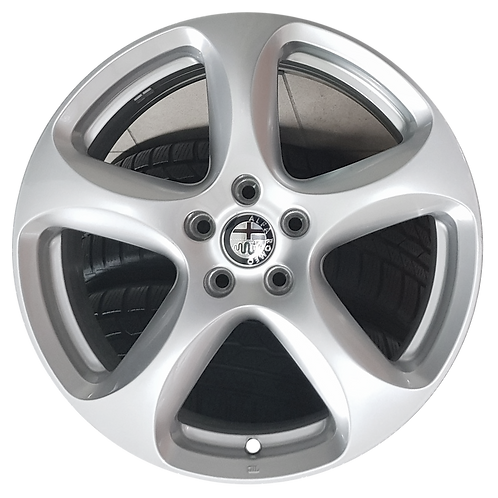 "18"" 2018-2019 Alfa Romeo Stelvio Silver Wheel 58187 &58168"
