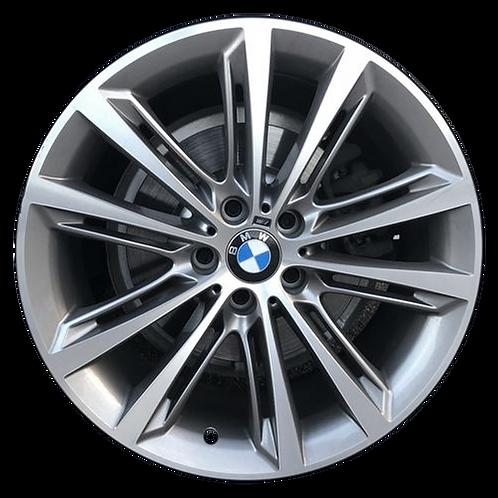 """20"""" 2011-2019 BMW 528i 535i 550i 640i 650i Grey Rear Wheel 71585 Style 464"""