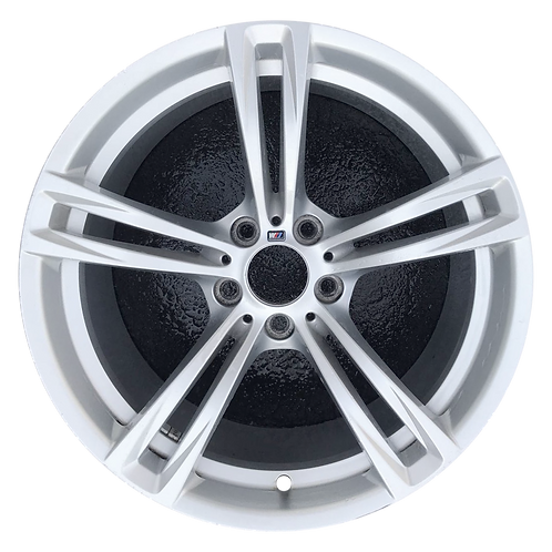 "19"" 2012-2019 BMW M5 M6 Silver Rear Wheel 71557 Style 408"