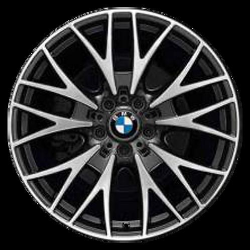 """20"""" 2012-2020 BMW 320i 328i 330i 340i 428i 430i Black Wheel 71552 Style 404"""
