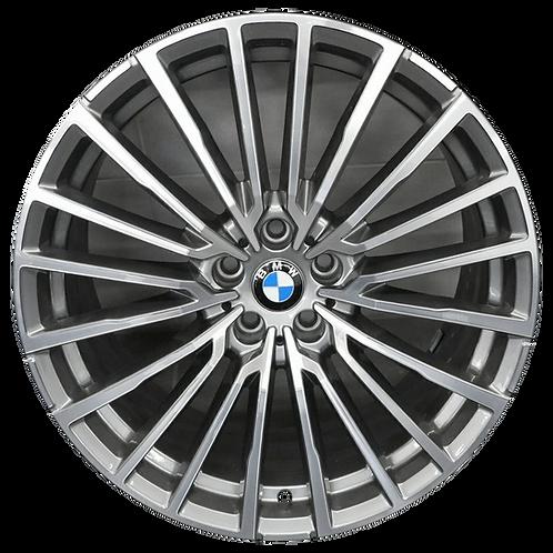 "20"" 2020 BMW 740i 745e 750i M760i Machined Grey Rear Wheel 86520 Style 777"