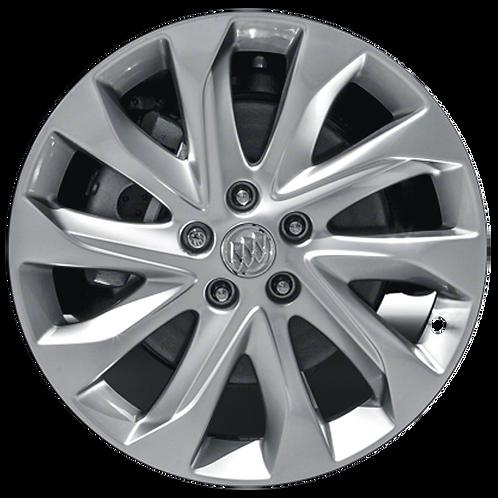 "19"" 2016-2018 Buick Envision Hyper Silver Wheel 4144"