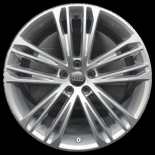 """20"""" 2019-2010 Audi A7 Silver Wheel 59055"""