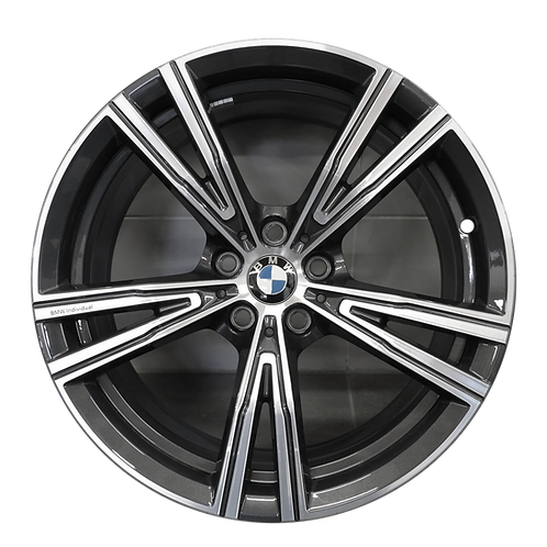 """19"""" 2020 BMW 330i M340i Machined Charcoal Front Wheel 86501 Style 793"""
