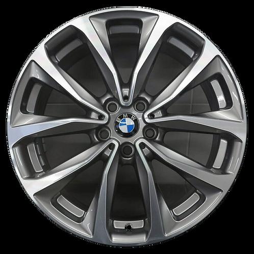 """19"""" 2018-2020 BMW X3 X4 Machined Grey Wheel 86351 Style 692"""