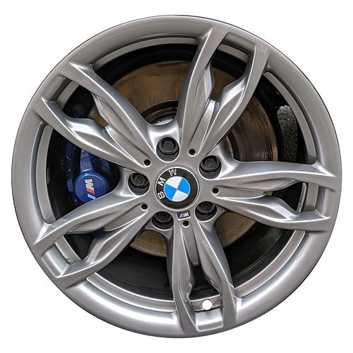 "18"" 2014-2020 BMW 228i 230i M235i M240i Ferric Grey Rear Wheel 86134 Style 436"