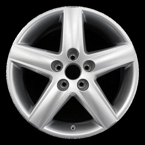 """17"""" 2002-2005 Audi A4 Silver Wheel 58749"""