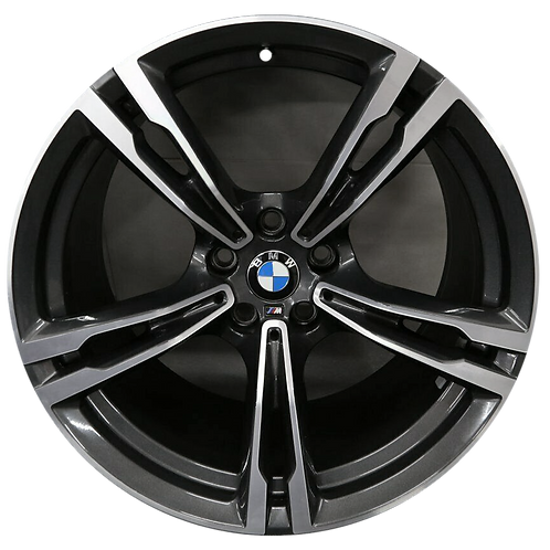 "19"" 2018-2020 BMW M5 Machined Grey Rear Wheel 86387 Style 705"
