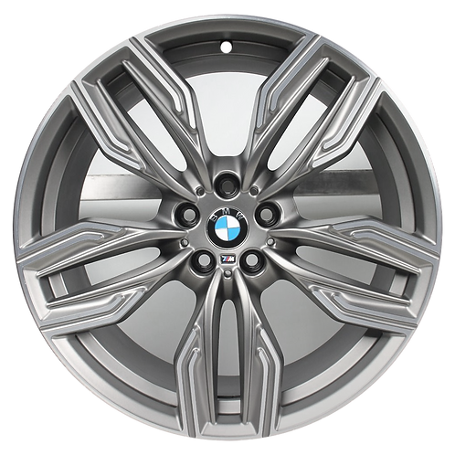 "20"" 2017-2020 BMW 640i GT 740e 740i 745i 750i Grey Rear Wheel 86344 Style 760"