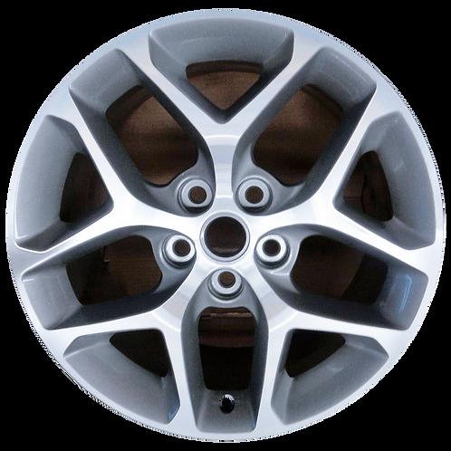 "18"" 2014-2019 Impala LaCrosse Regal Machined Silver Wheel 97464 & 180259"