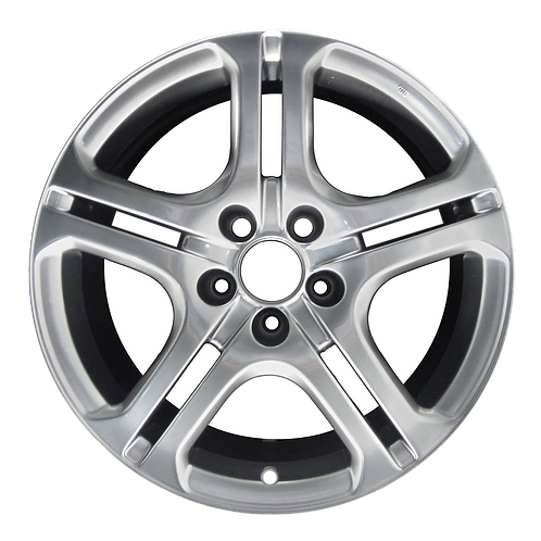 "17"" 2005-2006 Acura RSX TSX Smoked Hyper Silver Wheel 71739 & 71848"