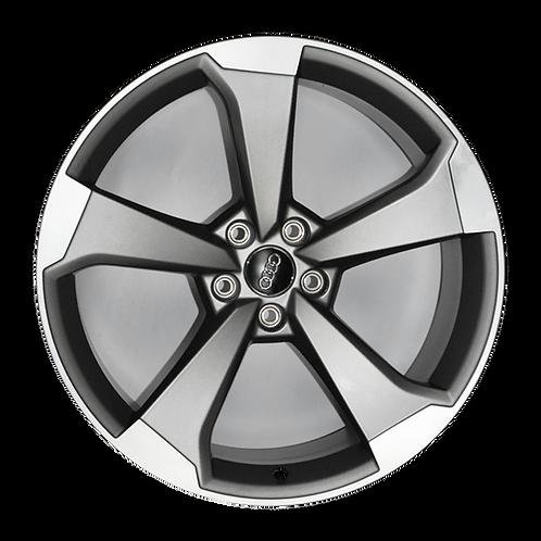 "20"" 2018-2019 Audi S5 Machined Grey Wheel 59081"