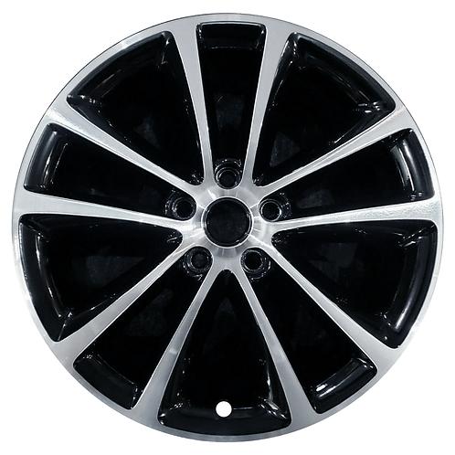 """18"""" 2015-2017 Buick Verano Machined Black Wheel 4111 & 4782"""