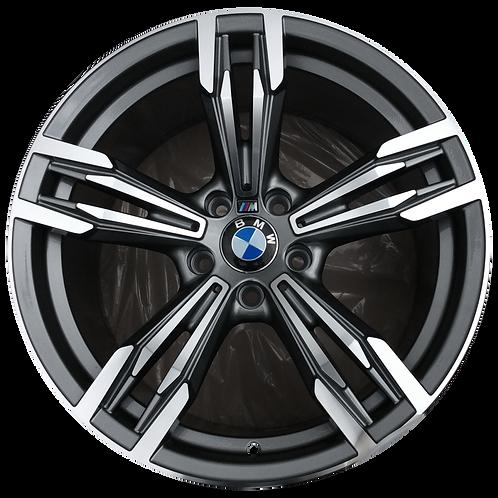 "20"" 2012-2019 BMW M6 Machined Black Rear Wheel 86027 Style 433"