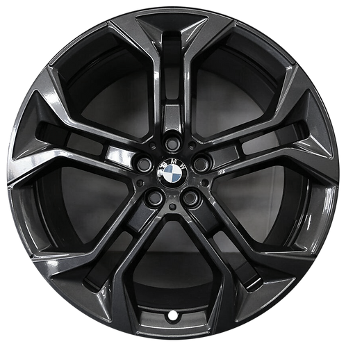 """21"""" 2019-2020 BMW X5 X6 Charcoal Front Wheel 86465 Style 744"""