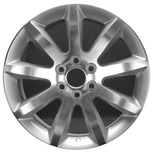"20"" 2013-2017 Buick Enclave Machined Silver Wheel 4132"