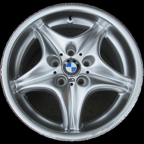 """17"""" 1998-2002 BMW Z3 Hyper Silver Rear Wheel 59264 Style 40"""
