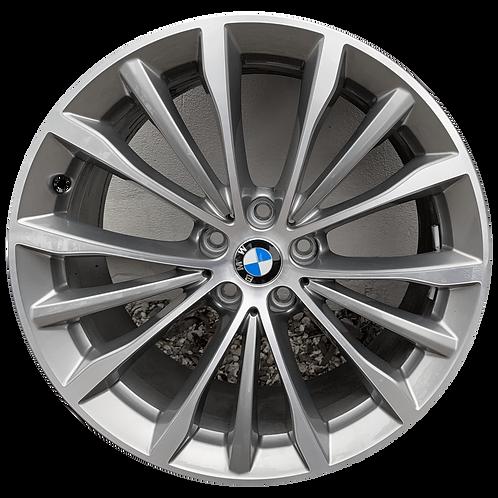 """19"""" 2017-2020 BMW 530e 530i 540i M550i Grey Rear Wheel 86333 Style 663"""