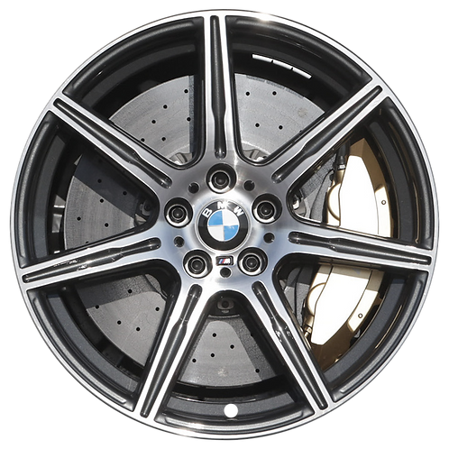 "20"" 2012-2016 BMW M5 Machined Charcoal Front Wheel 71625 Style 601"