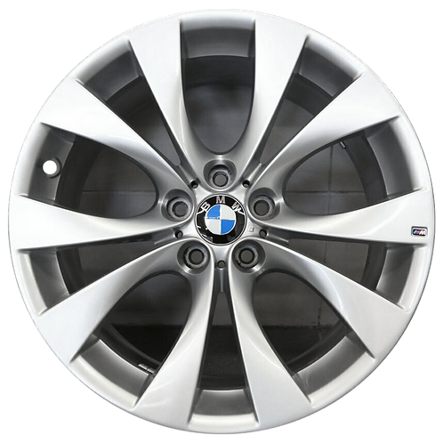 "20"" 2007-2013 BMW X5 Hyper Silver Rear Wheel 71225 Style 227"