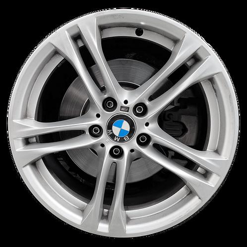 """18"""" 2011-2019 BMW 528i 535i 550i 640i 650i Silver Rear Wheel 86000 Style 613"""