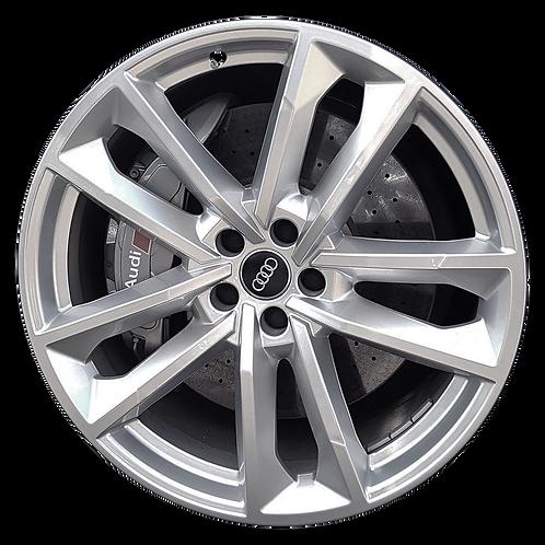 "21"" 2017-2018 Audi A8 S8 Hyper Silver Wheel 59015 & 59016"