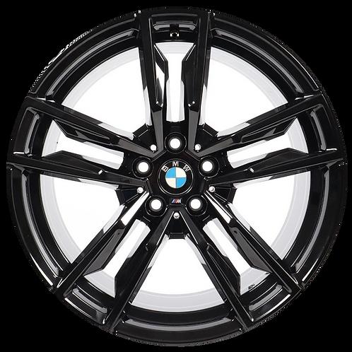 "19"" 2019-2020 BMW Z4 Black Front Wheel 86549 Style 799"