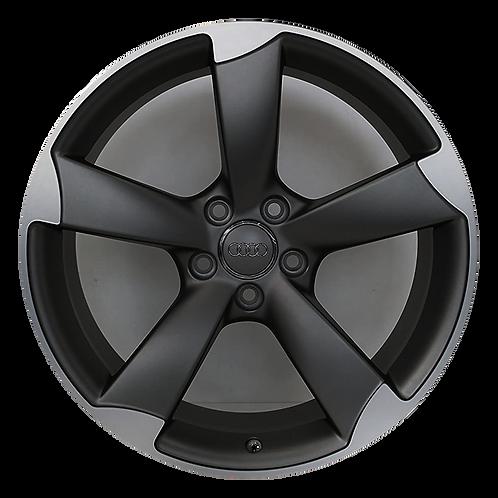 """19"""" 2014-2015 Audi TT Machined Black 58903 & 58944"""