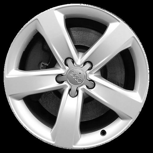 """18"""" 2012-2014 Audi A6 Silver Wheel 58893"""