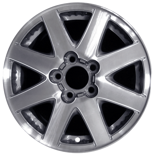 """16"""" 2002-2004 Buick Rendezvous Machined Charcoal Wheel 4044"""