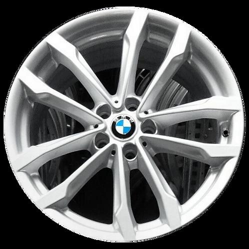 "19"" 2018-2020 BMW X3 X4 Silver Wheel 86353 Style 691"