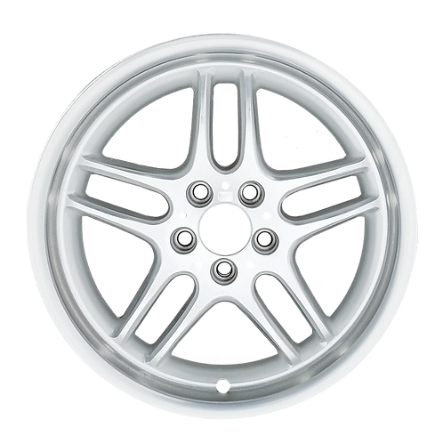 """18"""" 1998-2001 BMW 740i 750i Machined Silver Front Wheel 59271 Style 37"""