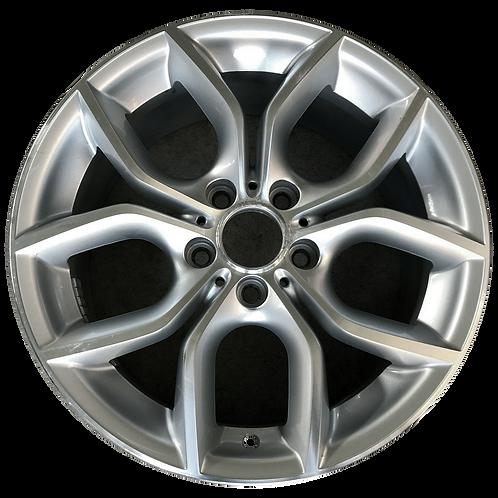 """18"""" 2011-2018 BMW X3 X4 Machined Silver Wheel 71477 Style 308"""