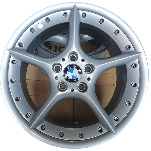 """18"""" 2003-2008 BMW Z4 Machined Silver Front Wheel 59420 Style 108"""