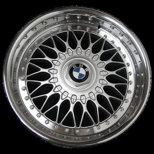 "17"" 1997-2003 BMW 525i 528i 530i 540i Silver Wheel 59255 Style 5"