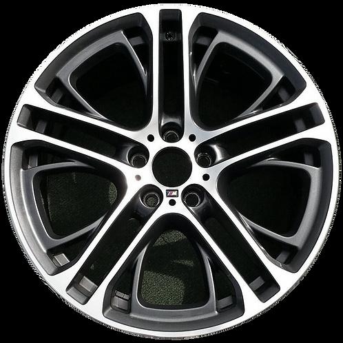 "20"" 2011-2018 BMW X3 X4 Machined Charcoal Rear Wheel 71487 Style 310"
