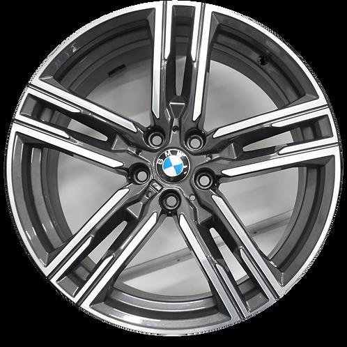 "19"" 2019-2020 BMW 840i M850i Machined Charcoal Rear Wheel 86417 Style 727"
