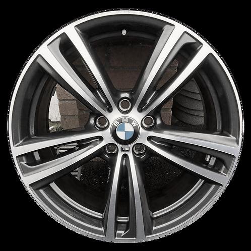 """19"""" 2014-2020 BMW 320i 328i 330i 340i 428i Silver Front Wheel 86014 & 86087"""