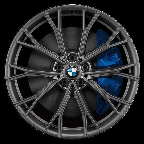 "20"" 2017-2020 BMW 530e 530i 540i M550i Orbit Grey Rear Wheel 86342 Style 669"